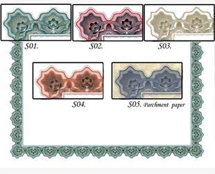 Certificate paper