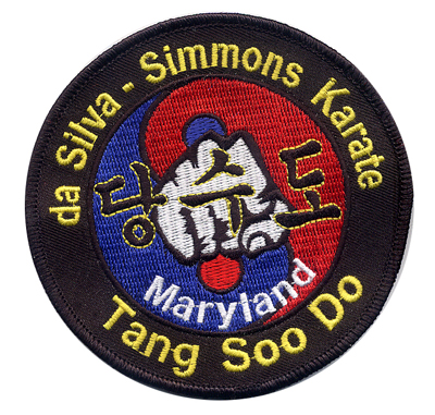 Custom Embroidered Patches Asian Martial Arts Design