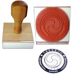 custom Chinese, Japanese, Korean rubber stamps